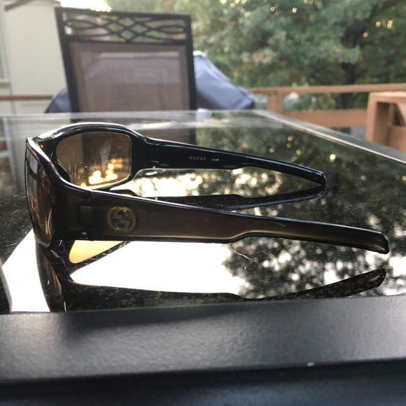 Gucci Wraparound shades! *Authentic* Great lenses!